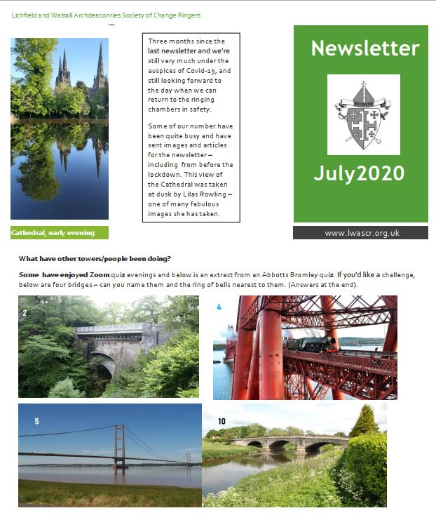 Newsletter cover Dec 2019